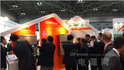 阳光电源多款组串式光伏逆变器竞技日本PV EXPO