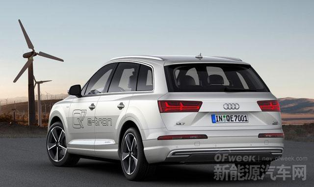 日内瓦车展奥迪全新Q7 e-tron发布 综合油耗1.7升