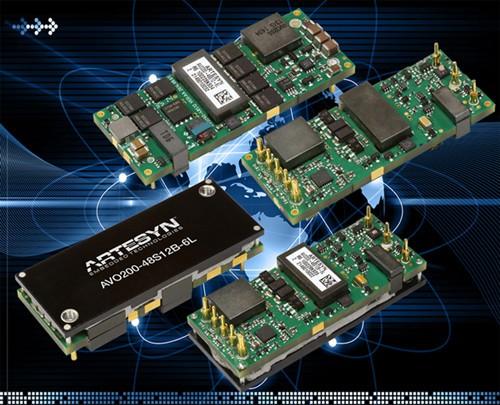雅特生科技全新推出高效的200W直流/直流电源转换器