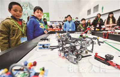 机器人 武林大会 启智津城青少年 图