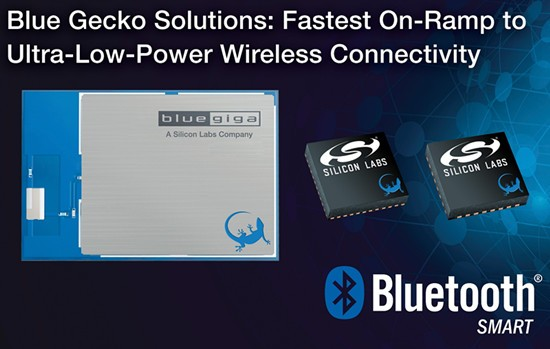 Silicon Labs推出Blue Gecko Bluetooth Smart解决方案