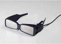新型智能眼镜 激光直射视网膜减轻弱视