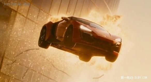 《速7》致敬保罗 豪华电跑可能上镜《速8》?