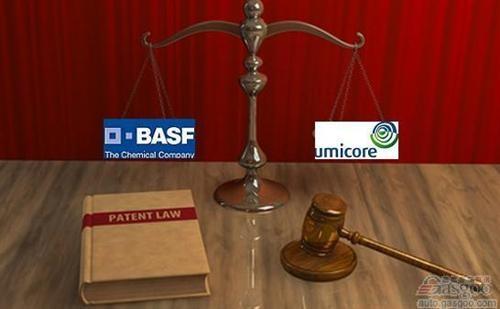 巴斯夫在美起诉优美科侵犯其锂电池专利权