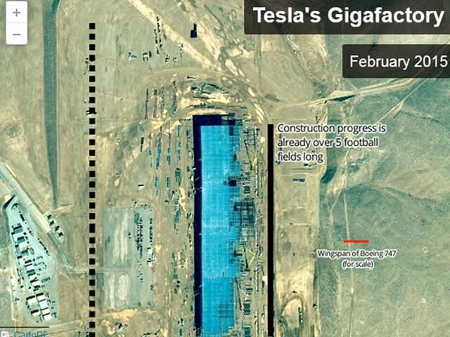 特斯拉超级电池工厂曝光 2017年开始生产