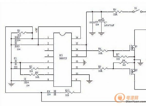 高频逆变电源中的前级开闭环电路讲解