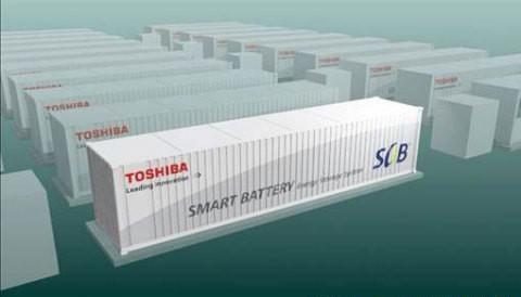东芝获美国大规模锂电池储能系统订单 11月交付