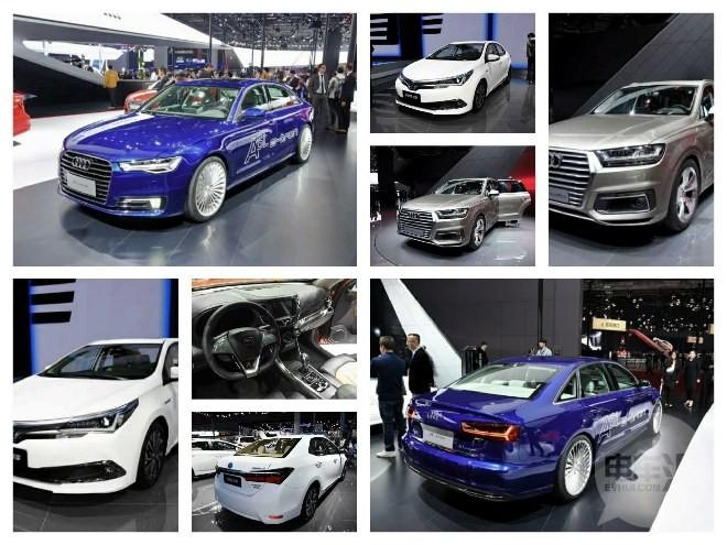 2015上海车展:即将量产的混动车型盘点