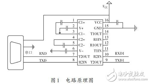 红外发射部分   红外发射端发送数据时,是将待发送的二进制数据调制成一系列的脉冲串信号后发射出去,红外载波为频率38 kHz的方波。红外载波可以使用单片机内部的定时器的PWM功能实现,也可以通过外围硬件电路实现,这里采用38 kHz晶振产生稳定的振荡信号,采用CD4069非门电路通过一系列转化实现方波振荡信号,与经过电平转换后的COMS数据信号叠加来实现驱动三极管导通,从而实现TSAL6200红外发射二极管将周期的电信号转变成一定频率的红外光信号发出,见图2.