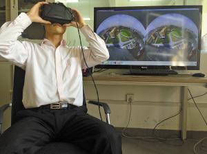 虚拟现实视觉传感器研制成功