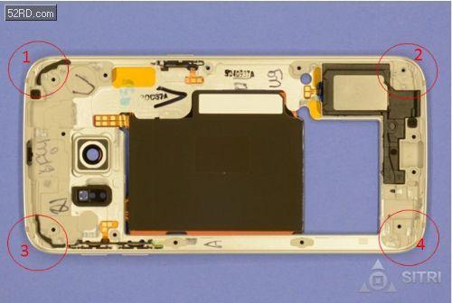 Galaxy S6 Edge拆解 看看都用了哪些传感器