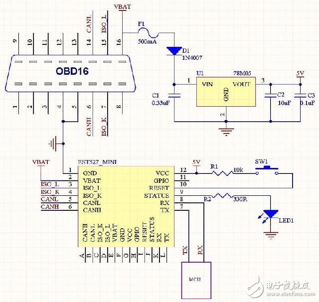 车载模块原理分析与电路设计详解