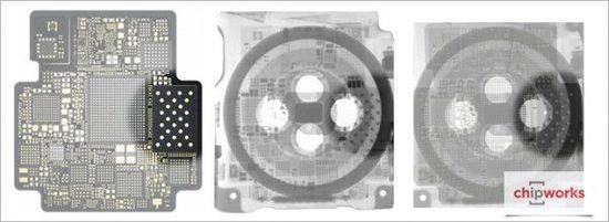 Apple Watch芯片级拆解:显微镜下芯片揭秘