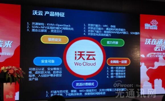中国联通全面推出政务云等沃云六大行业解决方案