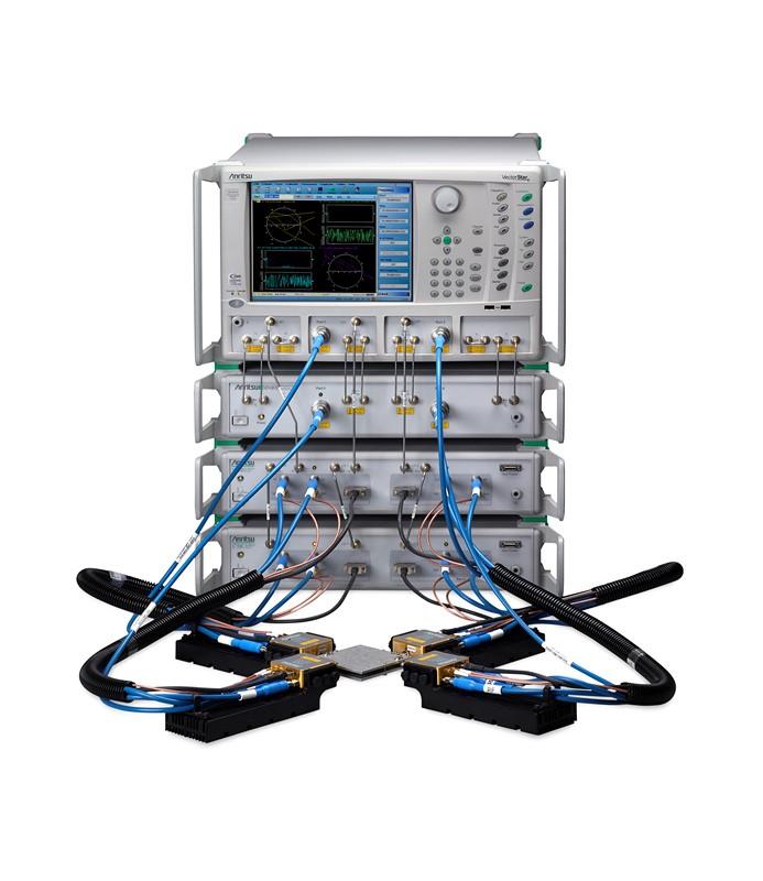 安立公司推出业内频率范围最宽的4端口宽频VNA系统