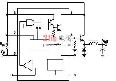 DC/DC转换器MC34063的应用