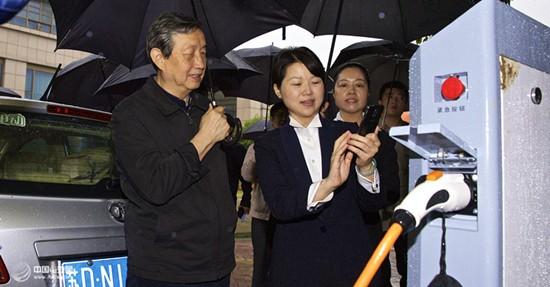 马凯副总理常州调研新能源汽车产业发言全文