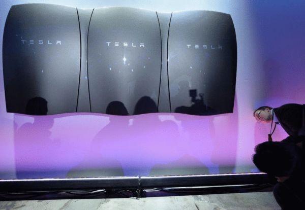 特斯拉新产品 家用电池