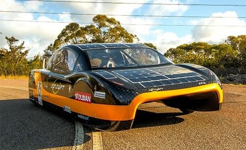 Sunswift eVe:最快的太阳能赛车
