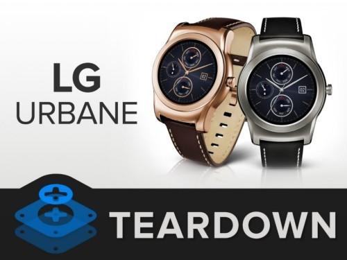 LG Watch Urbane智能手表拆解:非无线充电 电池易更换