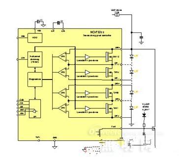汽车电子风扇控制器接线图解
