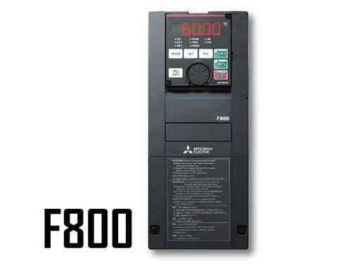 三菱电机新一代变频器FR-F800上市