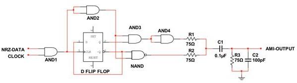 这个信号通过隔直电容c1后