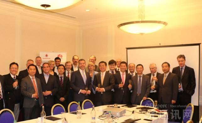 华为与沃达丰全球企业业务缔结战略联盟伙伴关系