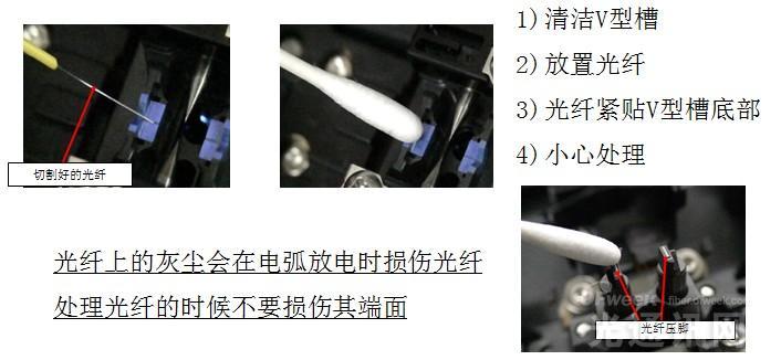 熔接机V型槽清洁的重要性以及方法