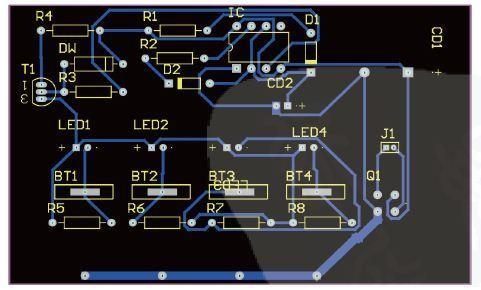 镍氢电池充电器电路pcb的设计