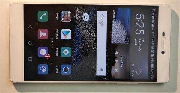 外媒:华为P8漂亮外观不亚于iPhone6 但电池遭吐槽