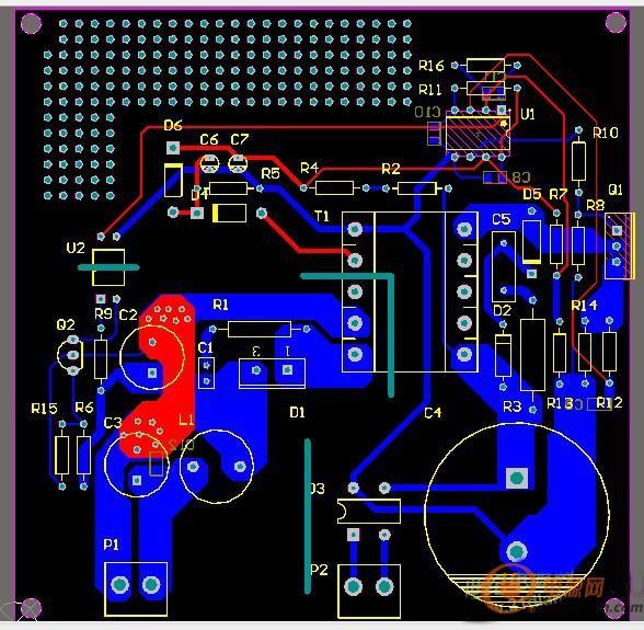 采用uc3842的反激开关电源调试