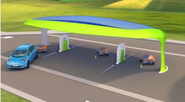 德国推出最美的移动电源 解决电动汽车里程焦虑