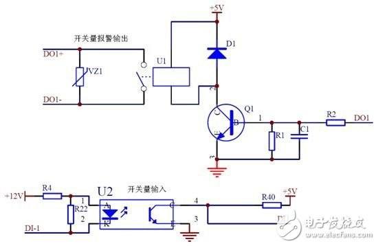 三相电机保护电路 电机保护器接线图