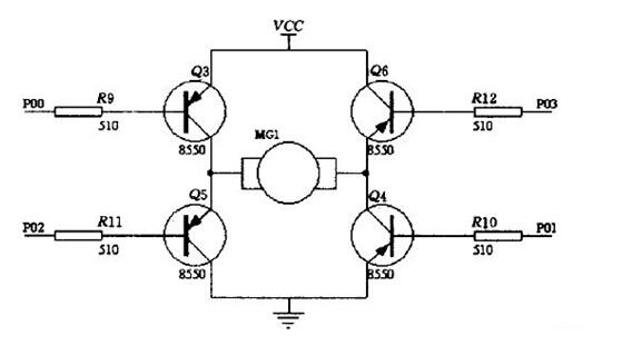 图5 电机驱动电路