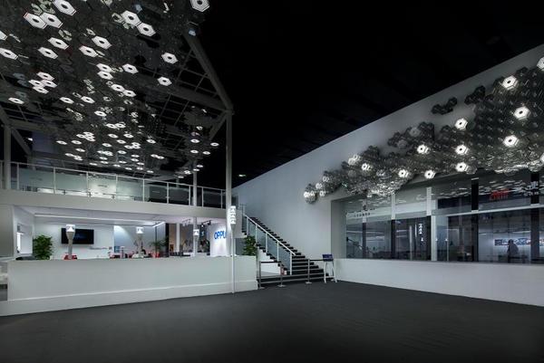 欧普照明惊艳亮相2015光亚展