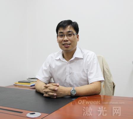 深圳极光世纪科技有限公司总经理韩涛