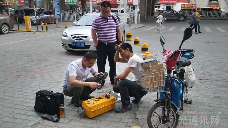 """服务""""一带一路""""助力新疆FTTH发展"""