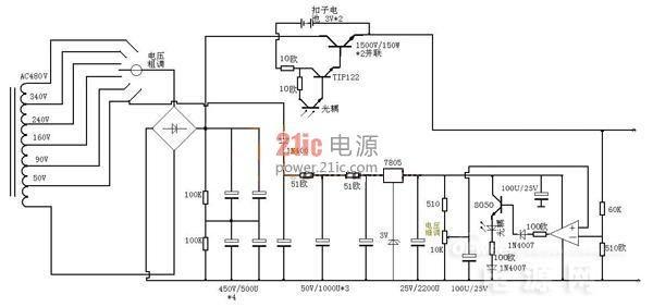 达人DIY 0瓦调起的范围线性直流电源