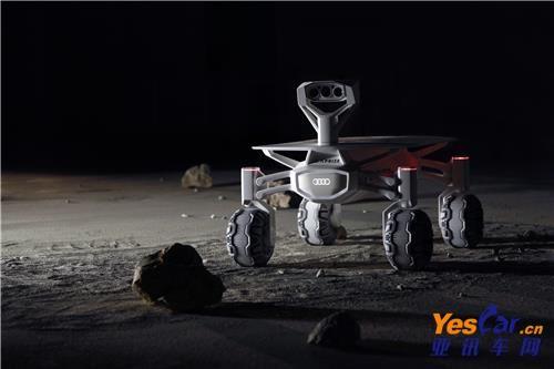 奥迪的下一步:造月球车 电动汽车 无人驾驶