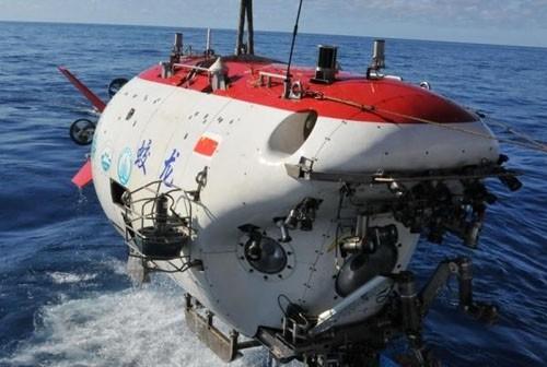 """""""蛟龙号""""载人潜水器已成功突破7000米"""