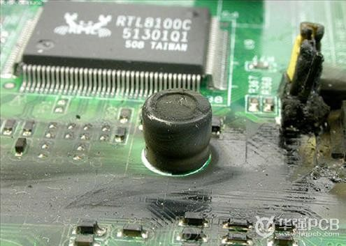 图二:PCB板设计_元器件过热烧毁