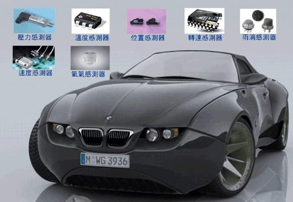 汽车传感器领域世界五大巨头