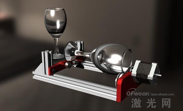 圆柱激光雕刻机-3dmax模型简介
