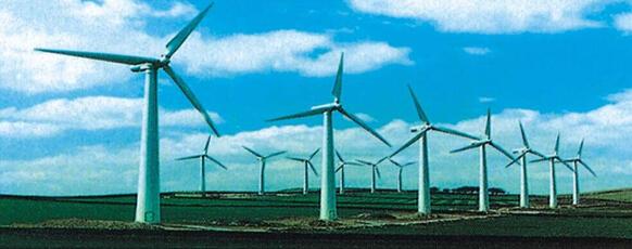 风力发电受到世界各国的大力支持
