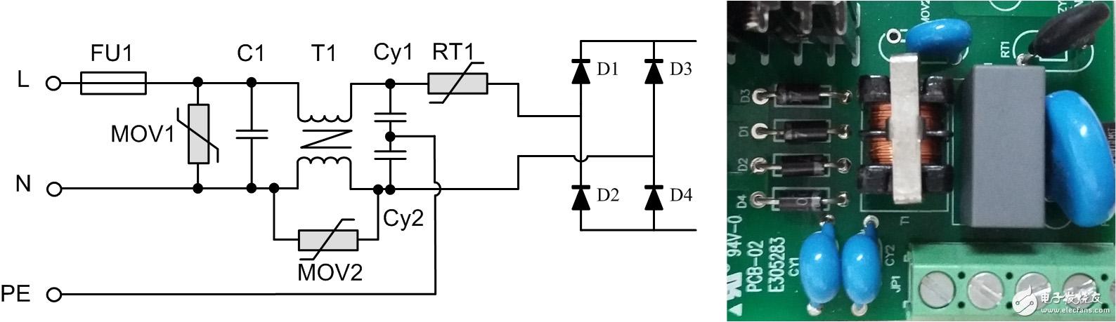 从浪涌抗扰度的角度设计EMC前级电路
