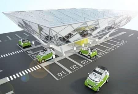 盘点国内5大太阳能电动汽车充电站(图)