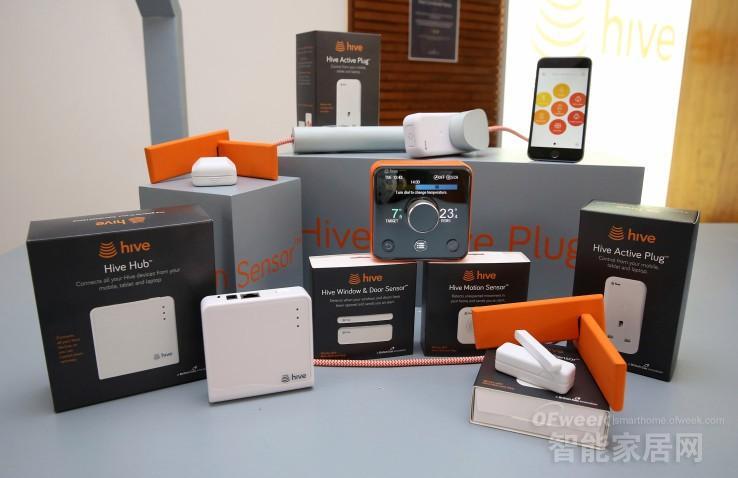 智能家居系列产品:智能Hub、插头、门窗传感器、动作探测器