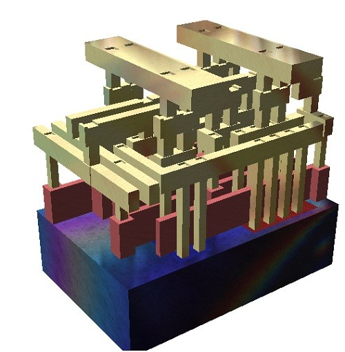 ic,全名集成电路(integrated circuit),由它的命名可知它是将设计好的