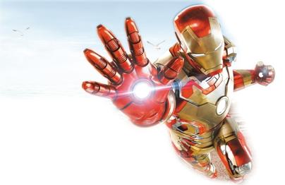 电影 钢铁侠 海报 外骨骼穿戴设备 让你成为 钢铁侠